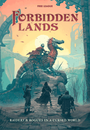Forbidden Lands roleplaying game cover