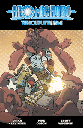 Atomic Robo roleplaying game cover