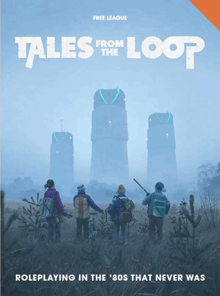 Tales From the Loop roleplaying game rulebook