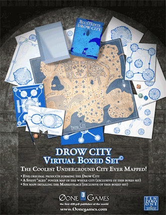 Drow City Virtual Boxed Set from Zero-One Games