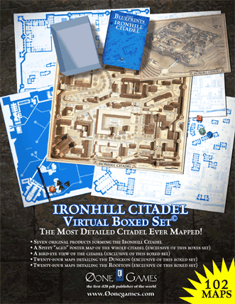 Ironhill Citadel Virtual Boxed Set from Zero-One Games
