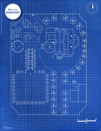Victorian House blueprint from Zero-One Games
